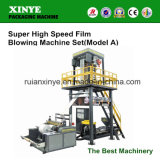 Super High Speed PE Plastic Film Blown Machine