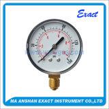 Factory Price Pressure Gauge-Black Steel Pressure Gauge-Bsp Thread Pressure Guage