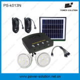 4W Solar Lighting Kits with 2bulbs 5-in-1 USB Mobile Adapter