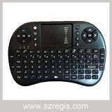 92 Keys Mini 2.4G Wireless Keyboard with 800mA Lithium Battery