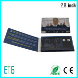 2.8 Inch LCD Greeting Card with Holder