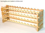 Factory Outline Customize Solid Wood Stackable Wine Rack for Displaying