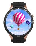 Smart Watch Kw88 Smart Phone Quad Core Pedometer GPS Gravity Sensor White Color