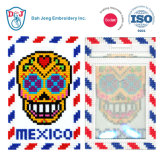 Mosaic Stitch Luggage Tag/ ID Card Holder- Mexico