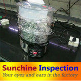 Steamer Quality Control and Inspection Service / Cookware Quality Inspection