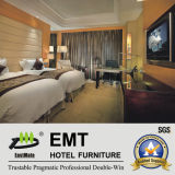Nice Design Modern Solid Wood Hotel Bedroom Furniture (EMT-K02)