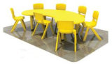 Cheap Kids Plastic Children Table Set for Sale (KF-07)