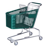 Plastic Shopping Cart (YLD-PT100)