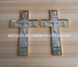 Christian Cross Adhesive Tape Metal Plate