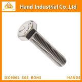 DIN933 Stainless Steel Fastener Full Thread Hex Bolt