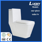 Economic One-Piece Siphonic Toilet with Ce Certficate