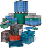 Plastic Crate, Storage Container (PK5638)