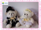 Cute Wedding Bear Plush Toy