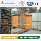 Red Brick Automatic Production Line with Drying Chamber