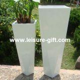 Fo-315 Tapered Decoration Fiberglass Flower Planter