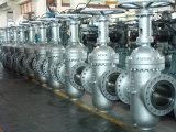 API 6D Cast Steel Slab Gate Valve for Oil Pipeline