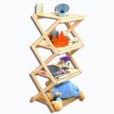 2014 New Kids Wooden CD Rack Toy, Popular Children Wooden CD Rack, Best Quality Wooden CD Display Rack, 4 Layer Wj278472