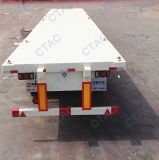 Manufacturer Tongya Best-Selling 40 Feet Flatbed Container Semi Trailer
