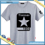 New Design Printed T Shirt with Star