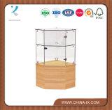 Glass Corner Filler Display with Locking Hinged Door Subastral