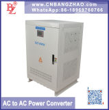Single Phase to 3 Phase Inverter 60kw Stable Output Frequency Converter