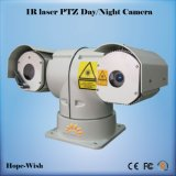 500m Outdoor Day Night IR Laser Bullet Camera with 360 Degree PTZ
