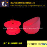 Illuminated Rechargeable LED Lit Plastic Table