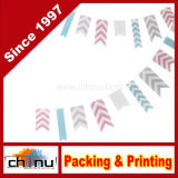 Ginger Ray Chevron Bunting Hanging Party Decoration - Chevron Divine (420025)