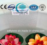 Ultra Clear Nashiji Patterned Glass with CE, ISO (3-8mm)