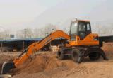 High Quality Wheel Excavator 8t Xn80-L