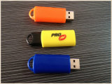 Newest Orange Plastic USB Flash Drive for Business (EP023)