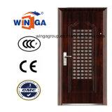 Good Price High Quality Single Doorleaf Security Steel Door (W-S-129)