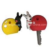 Custom Double-Sided 3D PVC Rubber Key Holder