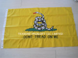 Embroidery State Cotton Polyester Outdoor Display Flag