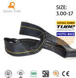 High Strength Motorcycle Inner Tube Natural Rubber Tube 3.00-17