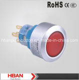 Hban CE RoHS (22mm) Momentary Latching Head-Illumination Micro Switch