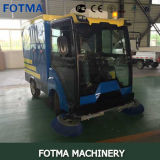 4 Wheel Electricity Vacuum Floor Sweeping Vehicle