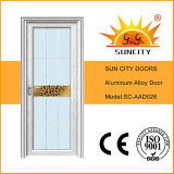 White Powder Coated Interior Aluminum Alloy Doors (SC-AAD026)