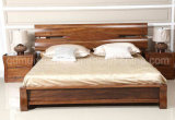Solid Wooden Bed Modern Double Beds (M-X2250)