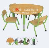 Round Adjustable Kindergarten Furniture Set for Children