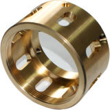 Brass Bushing-CNC Machining Parts with ISO 9001 Quality Level