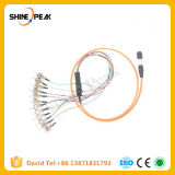 MPO to St Fiber Connector Patch Cord