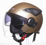 DOT Double Visor of Open Face Helmet (HF-256)