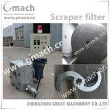 Scraper Type Melt Filter for Plastic Granules Making Machine