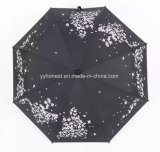 2017 New Product Cherry Blossom Inverted Umbrella