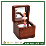 New Design Wooden Music Box with Dancing Ballerina