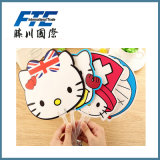 Summer Promotional Gifts Colorful Cute Mini Cartoon Hand Fan