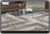 High Quality Tea Coffee Table with 10mm Clear Glass (XF-1315)