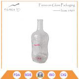 3L Glass Vokda Bottle with Decoration/Liqueurs Bottle