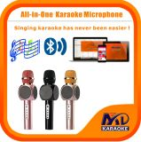 Wireless Bluetooth Microphone Multi-Function Karaoke Player Home Mini Karaoke Player KTV Singing Record for iPhone Smart Phone Tablet PC Laptop